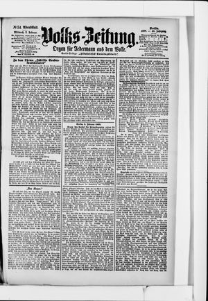 Volks-Zeitung vom 02.02.1898