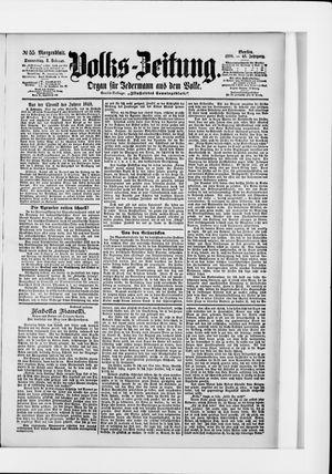 Volks-Zeitung vom 03.02.1898