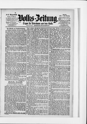 Volks-Zeitung vom 04.02.1898