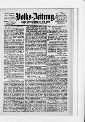 Volks-Zeitung on Feb 11, 1898