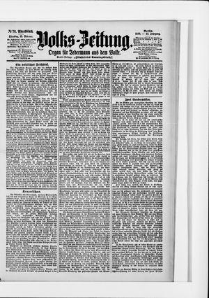 Volks-Zeitung vom 15.02.1898