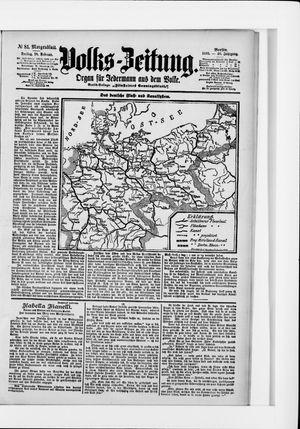 Volks-Zeitung vom 18.02.1898