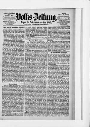 Volks-Zeitung vom 01.03.1898