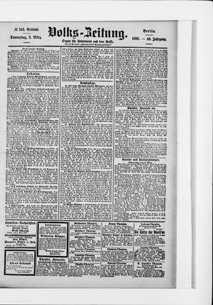 Volks-Zeitung vom 03.03.1898