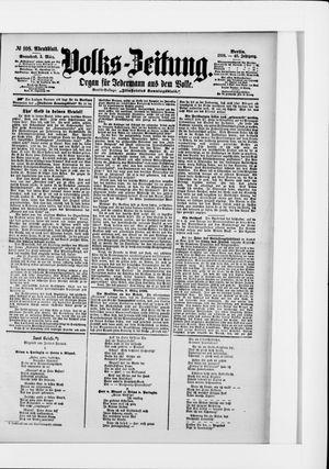 Volks-Zeitung vom 05.03.1898