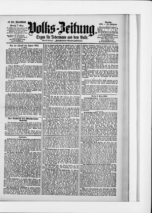 Volks-Zeitung vom 07.03.1898