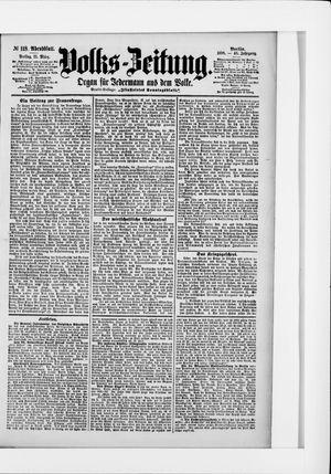 Volks-Zeitung vom 11.03.1898