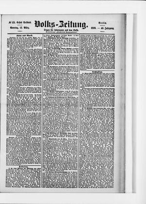 Volks-Zeitung vom 13.03.1898