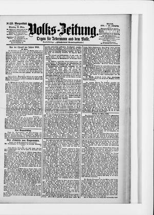 Volks-Zeitung vom 15.03.1898