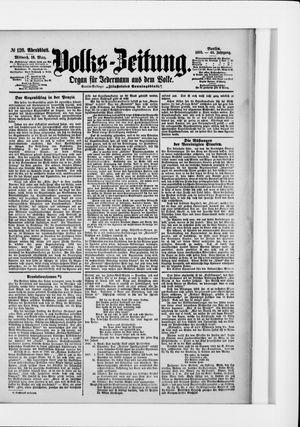 Volks-Zeitung vom 16.03.1898
