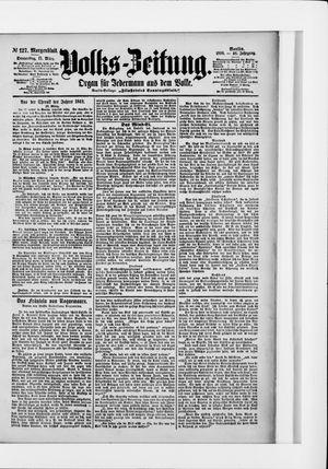 Volks-Zeitung vom 17.03.1898