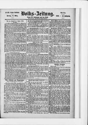 Volks-Zeitung vom 18.03.1898