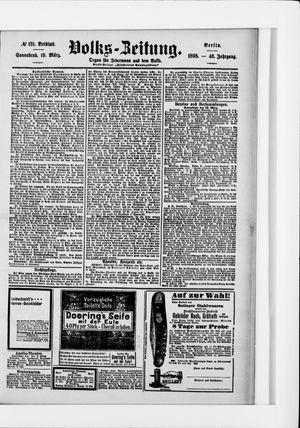 Volks-Zeitung on Mar 19, 1898