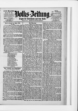 Volks-Zeitung vom 20.03.1898