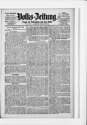 Volks-Zeitung vom 21.03.1898
