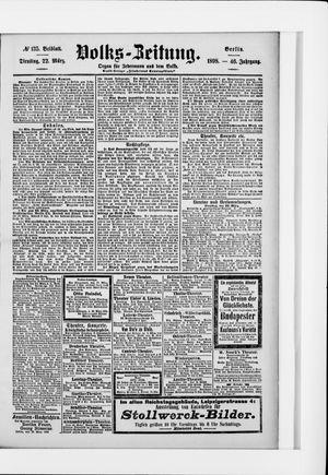 Volks-Zeitung vom 22.03.1898