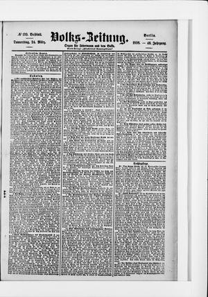 Volks-Zeitung vom 24.03.1898