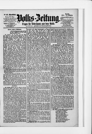 Volks-Zeitung vom 25.03.1898