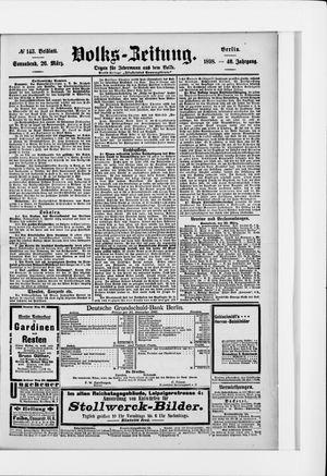 Volks-Zeitung vom 26.03.1898