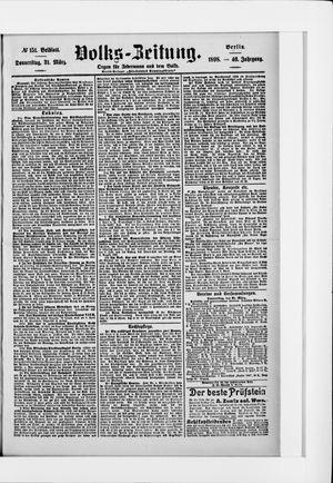 Volks-Zeitung vom 31.03.1898