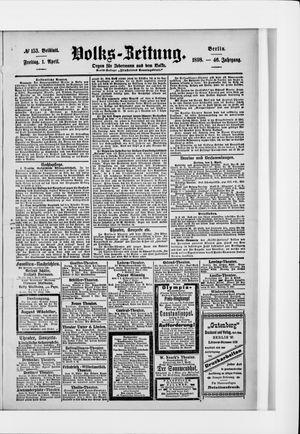 Volks-Zeitung vom 01.04.1898