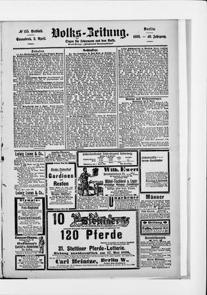 Volks-Zeitung vom 02.04.1898