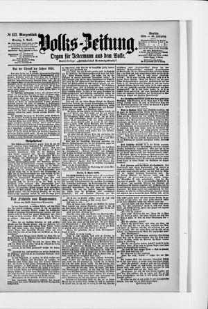 Volks-Zeitung vom 03.04.1898