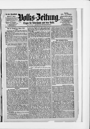 Volks-Zeitung vom 04.04.1898