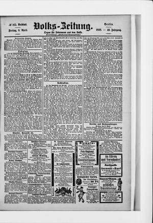 Volks-Zeitung vom 08.04.1898