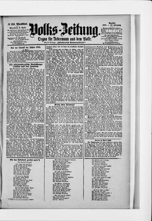 Volks-Zeitung vom 09.04.1898