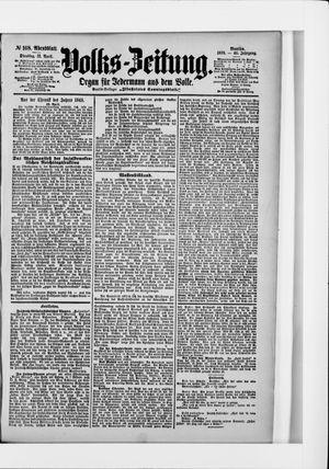 Volks-Zeitung vom 12.04.1898