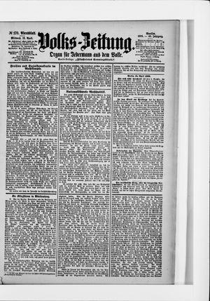 Volks-Zeitung on Apr 13, 1898