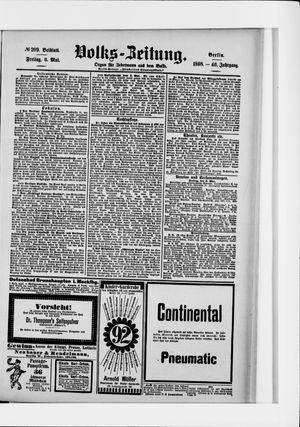 Volks-Zeitung vom 06.05.1898