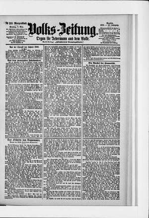 Volks-Zeitung vom 08.05.1898