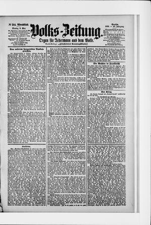 Volks-Zeitung on May 9, 1898