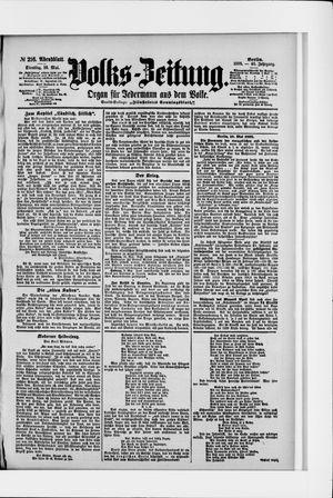 Volks-Zeitung vom 10.05.1898
