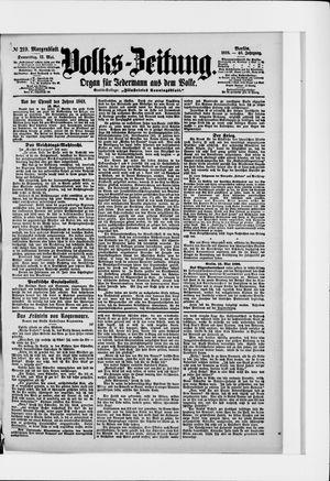 Volks-Zeitung vom 12.05.1898