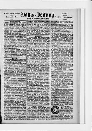 Volks-Zeitung vom 15.05.1898