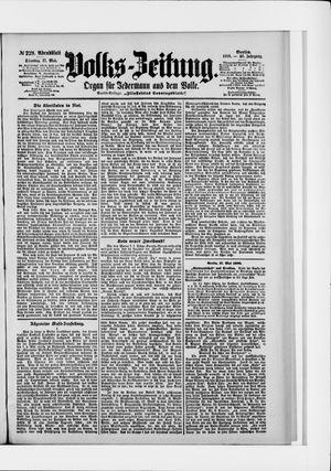 Volks-Zeitung vom 17.05.1898