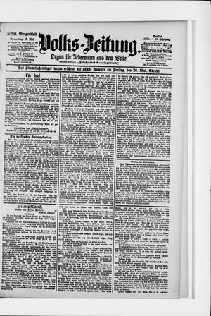 Volks-Zeitung vom 19.05.1898