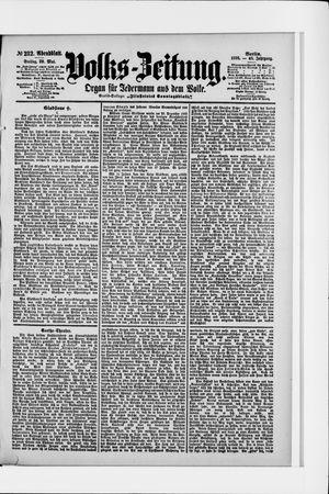 Volks-Zeitung vom 20.05.1898