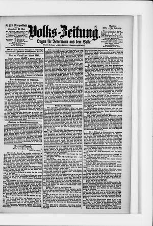 Volks-Zeitung vom 21.05.1898