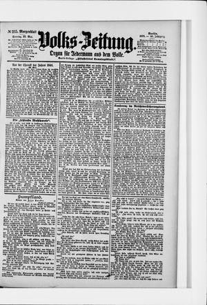 Volks-Zeitung vom 22.05.1898