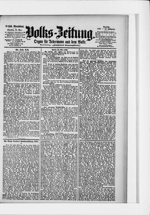 Volks-Zeitung vom 24.05.1898
