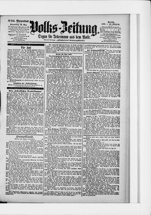 Volks-Zeitung vom 26.05.1898