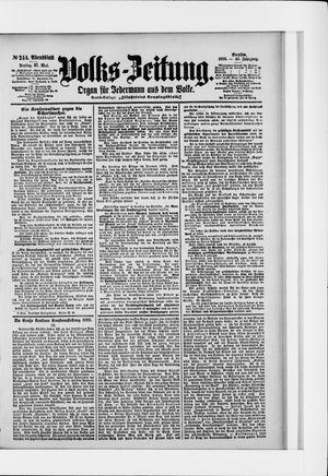 Volks-Zeitung vom 27.05.1898