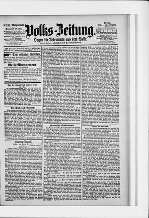 Volks-Zeitung vom 28.05.1898