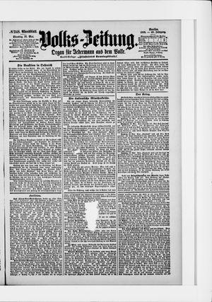 Volks-Zeitung vom 31.05.1898
