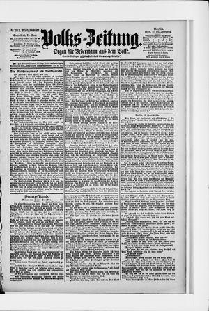 Volks-Zeitung vom 11.06.1898