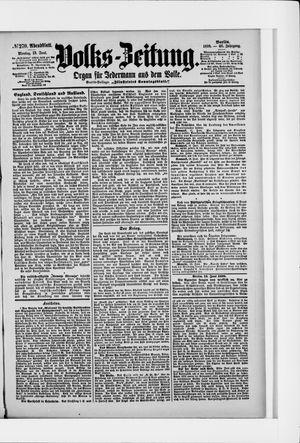 Volks-Zeitung vom 13.06.1898